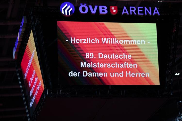 Herzlich Willkommen zu den Deutschen Meisterschaften in Bremen (©Thomas)