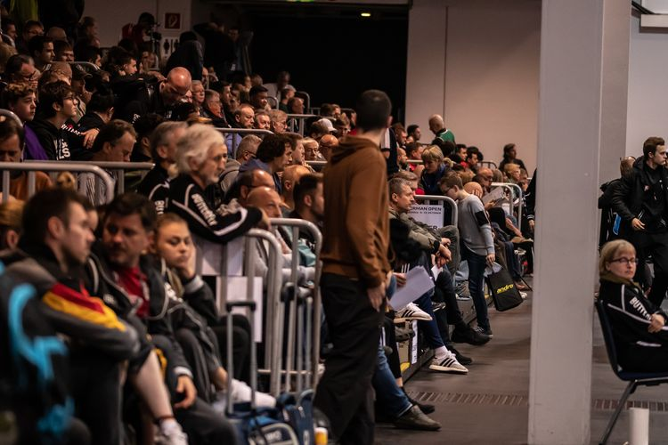 Am zweiten Tag der diesjährigen German Open waren die Ränge in der Bremer ÖVB-Arena gut gefüllt. (©Gohlke)