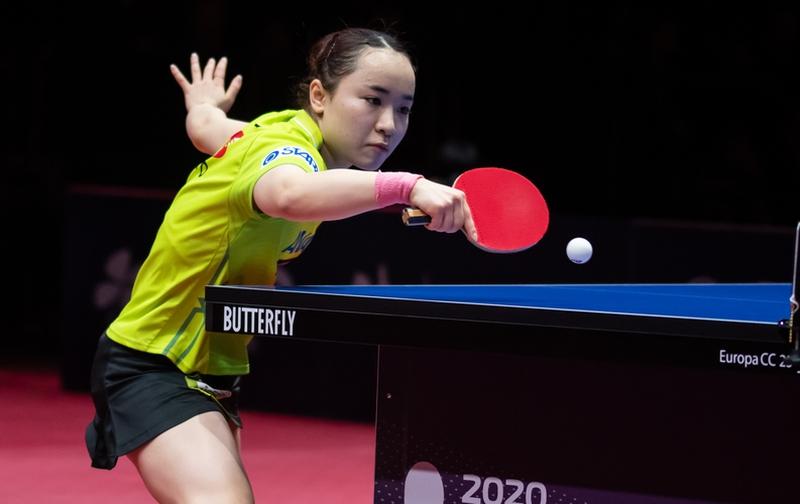 Los ging es am Samstag mit den ersten beiden Viertelfinals im Damen-Einzel. Als letzte Nicht-Chinesin war Mima Ito im Turnier vertreten. Aber auch sie musste sich dann verabschieden... (©Gohlke)