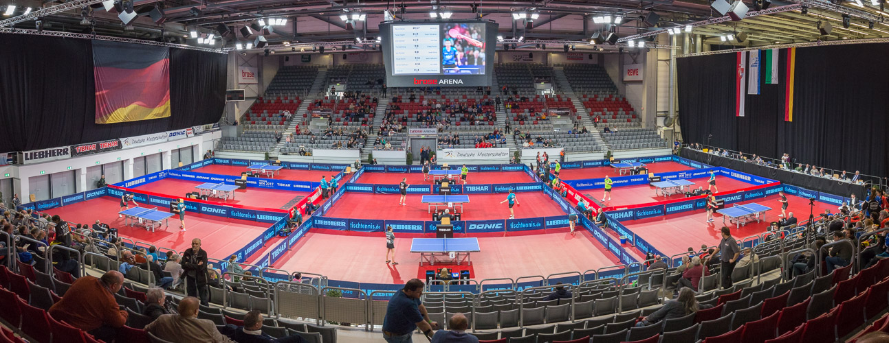 Willkommen in der Brose Arena in Bamberg. Hier werden am Sonntag die neuen Deutschen Meister gekürt (©Fabig)