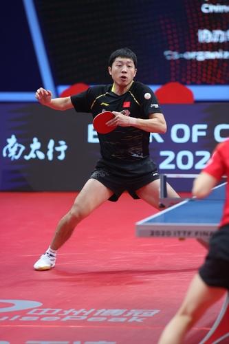 Im Mannschafts- und Mixedwettbewerb mischt auch Doppelexperte Xu Xin mit (©ITTF)