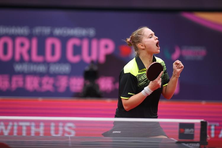 Ladies first! Und die Erste, die sich aufgrund ihrer guten Weltranglistenposition für Tokio 2021 qualifiziert hat, ist die Ukrainerin und Nummer 33 der Welt, Margaryta Pesotska (©ITTF)