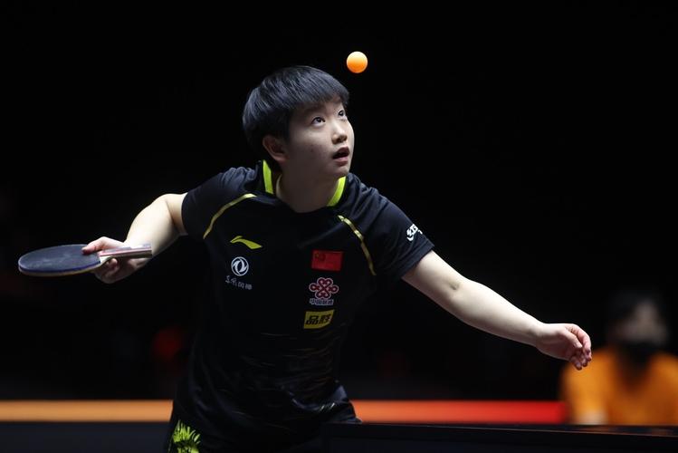 Wie Chen wird auch Sun Yingsha China im Einzel vertreten (©ITTF)