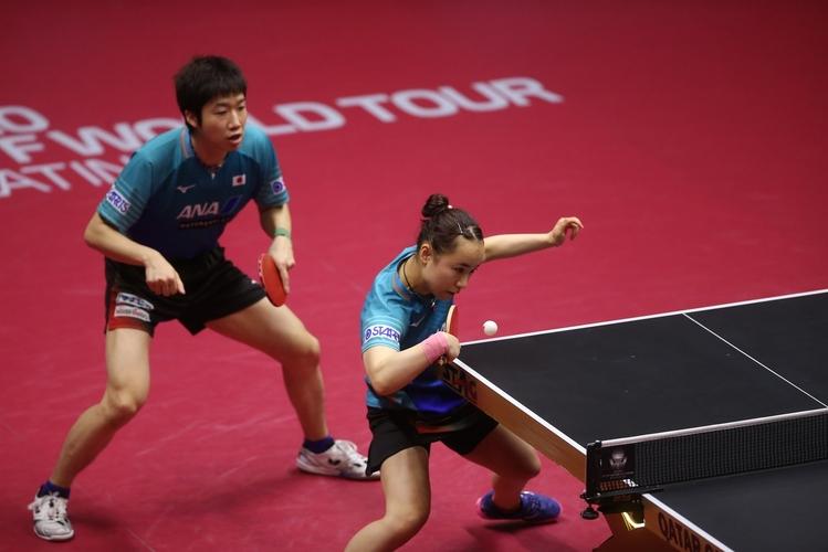 Auf heimischem Boden werden sich auch Jun Mizutani und Mima Ito ordentlich ins Zeug legen. (©ITTF)