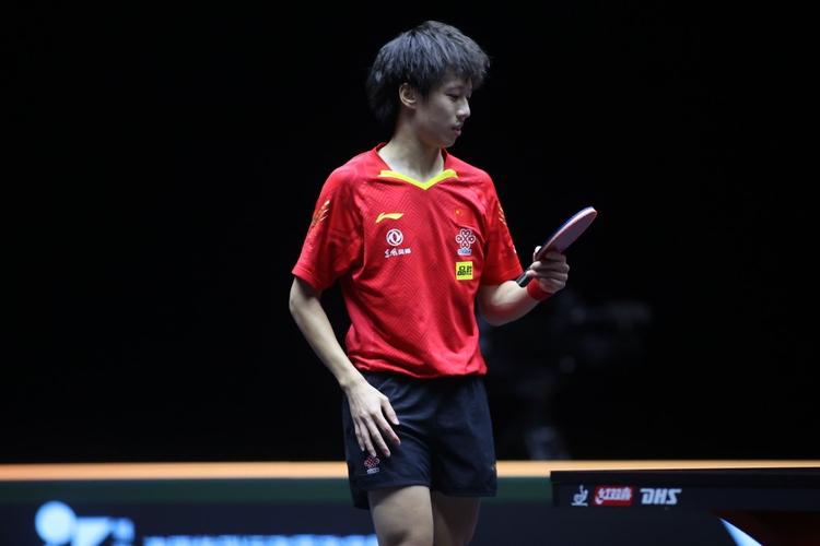 Man sollte meinen, als Nummer fünf der Welt hat man auch einen Platz im olympischen Wettbewerb sicher. Doch Lin Gaoyuan ist zu seinem Unglück nur der viertbeste Chinese. Er darf nicht mit nachTokio. (©ITTF)